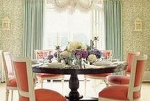 Dining Rooms / Gather for food, stay for stories.;)