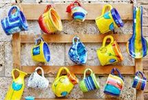 Colorful Kitchen Accessories / Little Knick-Knacks to amp up your kitchen and dining area.
