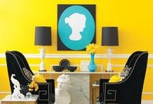Pretty Yellow / Offer a fresh appeal to your décor with this vibrant and happy color.