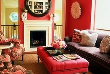 Let's paint the world RED! / Go bold & passionate with the color red.
