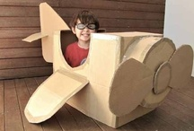 Cardboard Design / Not going to let any cardboard go to waste from our upcoming move!!! / by Liberty'sMom