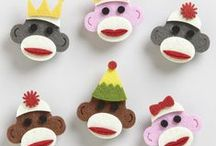 Craft | Sock Monkey / Do you have a sock monkey in need of love? Bring it to my house. / by Amy | Mod Podge Rocks