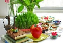 Nowruz - Persian New Year / Everything you need to know about celebrating Norooz - the Persian New Year and the first day of Spring: from food to the haft sin to the history of Norooz/Norouz/Noruz/Nowrooz.  If you are a blogger pinning to this board, please post only one photograph from each blog post. Multiple pictures from the same blog post will be removed. Thank you!
