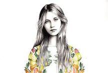 I L L U S T R A T E  / by Sarah Kyle {Lady Go Lightly}