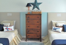 BoYS' RooMS / Home decor ideas for boys!  :D / by April Boone
