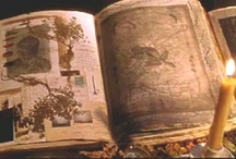 Book of Shadows / Stylistic BOS book and page examples. Not for reference.