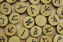 Runes / Ancient alphabets, specifically Germanic Elder Futhark.