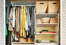 Organizing Ideas for the Home / Pretty and practical ideas for organizing and decluttering any space in your home or business.  organization | organized | organize | organizing | home organization | get organized | organize your life | organization tips | organization tricks | organization ideas | declutter | decluttering | KonMari | KonMari Method | kitchen organization | bathroom organization | bedroom organization | organizing with kids | organizing on a budget | small space organization