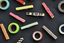 Craft | Washi Tape / Washi tape ideas! The best washi tape crafts in the universe - see more at washitapecrafts.com.