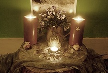 [13] Honor Divinity / Circle area decor and arrangement ideas to create a space where I can honor the divine.