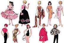 "Vintage ""Barbie"" Patterns / by Margene Sailsbury"