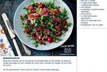 Food: Healthy Recipes / Gezonde recepten van Sonja Bakker en Weight Watchers.