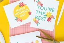 Holiday | Mother's Day / I love my mom! Mother's Day crafts and DIY projects for your favorite mother - or friend who is a mother - or sister who is a dog mom - or brother's wife's cousin that has kids - you get the idea.