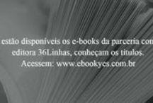 Parceria 36Linhas / São livros técnicos, almanaques, romances, guias, cursos, livros infantis, quadrinhos e auto-ajuda.
