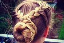 hair & beauty / Tips on all things hair - how to curl hair, create braids, make the perfect ponytail and more cute hair cuts.  Tips on all things makeup- the best makeup look for going out. Tartlette pallet ideas, makeup ideas.
