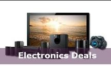 Electronics Deals / Electronics, gadgets and latest tech news from our go-to techy at DealsPlus. Find great deals on TVs, laptops, cameras, gaimg and more!  / by DealsPlus Deals and Coupons