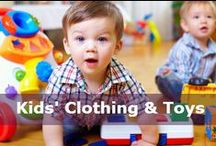 Kids' Clothing & Toy Deals / Goodies for the little ones in your life. / by DealsPlus Deals and Coupons