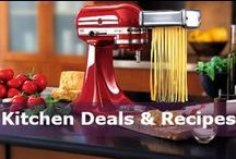 Kitchen Deals & Recipes / Find deals and coupons for kitchen appliances, cookware, bakeware, tabletop and bar, and beyond.  Oh, and we're always stockpiling recipes here! / by DealsPlus Deals and Coupons