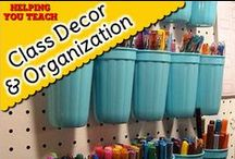 Classroom Decor & Organization / Great ideas for your classroom.
