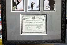 Wedding/Anniversary Framing