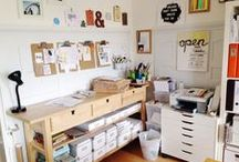 A Space to Inspire  / Home Office Ideas / by Sydney B.