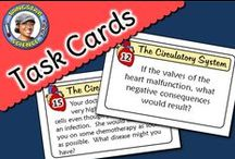 ~ My Task Cards ~ / This is a collection of chemistry, biology and ecology task cards.