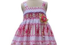 Polka dots girls dresses