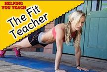 The Fit Teacher / INSPIRING TEACHERS TO BE FIT:  Are you a fit teacher or trying to stay fit and?  Do you have any shining fit moments (marathon completed, lost 80lbs, etc)?  Do you have any fitness routines and recipes you actually use and that work for you?  If you have anything related to being a fit and healthy teacher, pin it here to inspire others.  Let it be known that you can be a teacher (and parent) and still be fit and healthy.  If you want to contribute to this board email me at anti.tang@gmail.com
