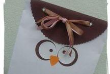 Embalagens decoradas / Idéias de embalagens e embrulhos para presentear com carinho.