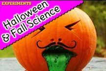 Halloween and Fall Science