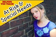 At Risk & Special Needs / by Tangstar Science