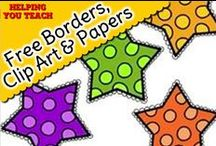 Free Borders, Clip Art and Papers