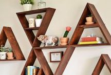 Shelving and walls / Shelves and displays for home, wall decor, gallery walls