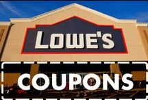 Lowe's Coupons / Follow DealsPlus on Pinterest for the most recent Lowe's coupon codes and Lowe's printable coupons. On top of 10% off deals and special offers, you'll also find DIY projects and home improvement ideas from Lowe's and around the web. / by DealsPlus Deals and Coupons
