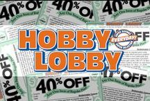 Hobby Lobby Coupons / Get Hobby Lobby coupon codes and printable coupons straight to your Pinterest feed! Follow DealsPlus on Pinterest for all the latest offers from Hobby Lobby as well as DIY and craft ideas from around the web. / by DealsPlus Deals and Coupons