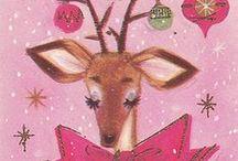Vintage Christmas Cards / vintage christmas postcards