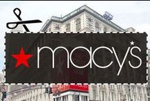 Macy's Coupon Codes & Printable Coupons / Looking for Macy's coupons? You've come to the right place! Follow this board for the most recent coupon codes and printable coupons for Macy's and Macys.com. Plus, you can always visit DealsPlus for more: http://www.dealsplus.com/macys-coupons  / by DealsPlus Deals and Coupons