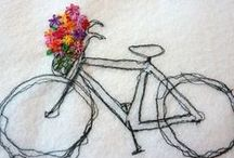 Embroidery Inspiration / crafts with thread and floss