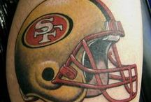 #49ersInk / Great 49ers tattoos from The Faithful.