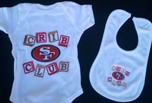 49ers Crib Club / Starting 'em young. Our favorite ideas for baby showers & more. The cutest kids in red and gold.