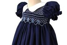 Girls Navy Clothing / I love navy,  it is definitely one of my favorites colors along with reds,  that is why I have to have this boards with all my favorites navy dresses with hand smocking and more beautiful embellishments that will make this collection perfect for your little girls wardrobe!   Shop small at Carouselwear!