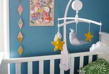 Kid's room / Décorer une chambre d'enfant. Des inspirations déco, des ambiances enfantines, pour un enfant ou un bébé. De bonnes idées décorations pour sa maison.