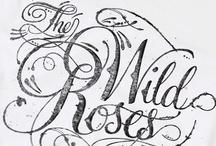 Typography Handlettering Calligraphy / by Szabina Korsós