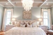 Master Bed / by Aly Brooks {entirelyeventfulday.com}