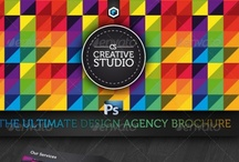 digital & design / fonts, photoshop tools, files, design ideas, templates, digital inspiration / by R G