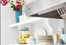Kitchens / Beautifully decorated kitchens, kitchen design ideas, and more. / by Aly Brooks {entirelyeventfulday.com}
