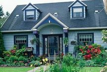 Home Exteriors / Beautiful home Exteriors, gardens, and any type of outdoor space.