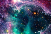 * Space / A variety of real space images and artistically created dream worlds