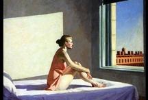 i ♥ Hopper / Edward Hopper (Nyack, 22 de julio de 1882 - Nueva York, 15 de mayo de 1967) fue un famoso pintor estadounidense, célebre sobre todo por sus retratos de la soledad en la vida estadounidense contemporánea.