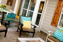 Outdoorsy / Ideas for how to make our outdoor space as welcoming as the indoors. / by Megan Spreer